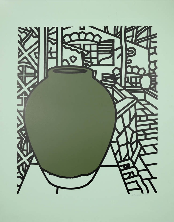 Patrick Caulfield, Green Jar, 1974