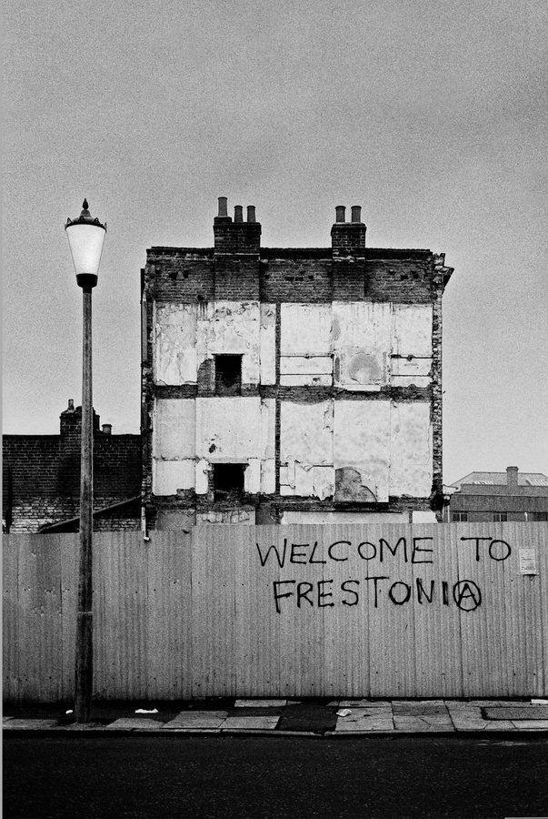 Welcome to Frestonia  © Tony Sleep